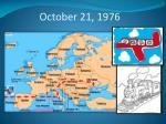 october 21 1976