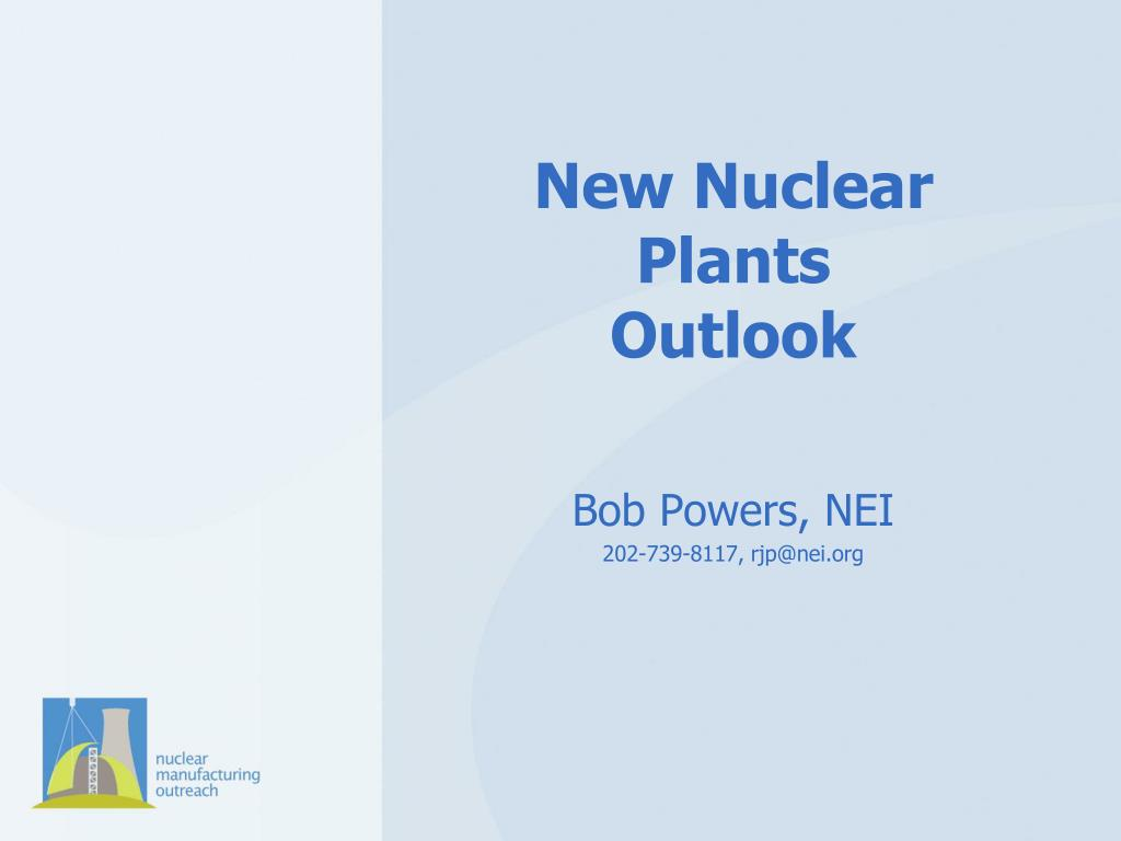 new nuclear plants outlook l.