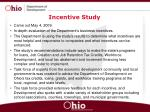 incentive study