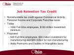 job retention tax credit