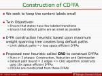 construction of cd 2 fa