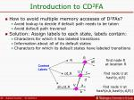 introduction to cd 2 fa