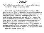 i darwin