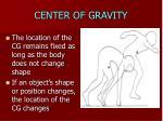center of gravity4