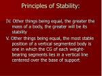 principles of stability29