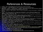 references resources