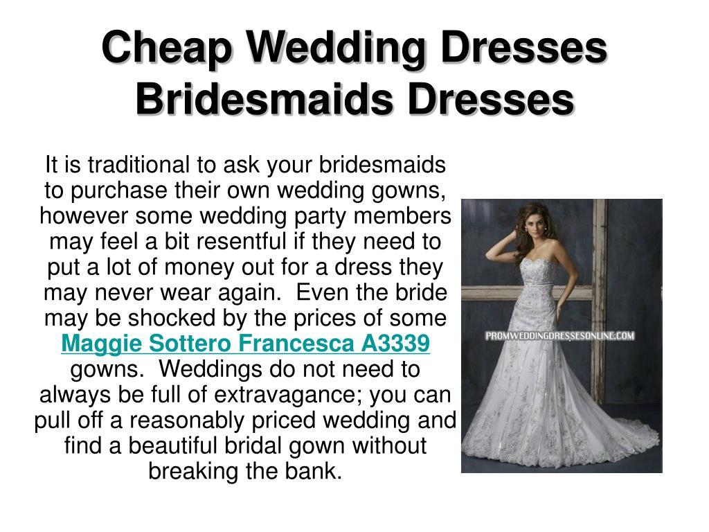 cheap wedding dresses bridesmaids dresses l.