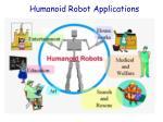 humanoid robot applications