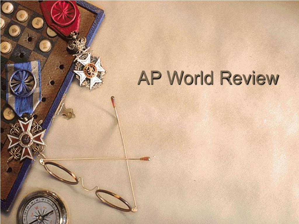 ap world review l.