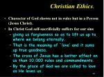 christian ethics19