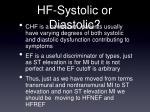 hf systolic or diastolic