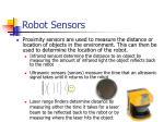robot sensors20
