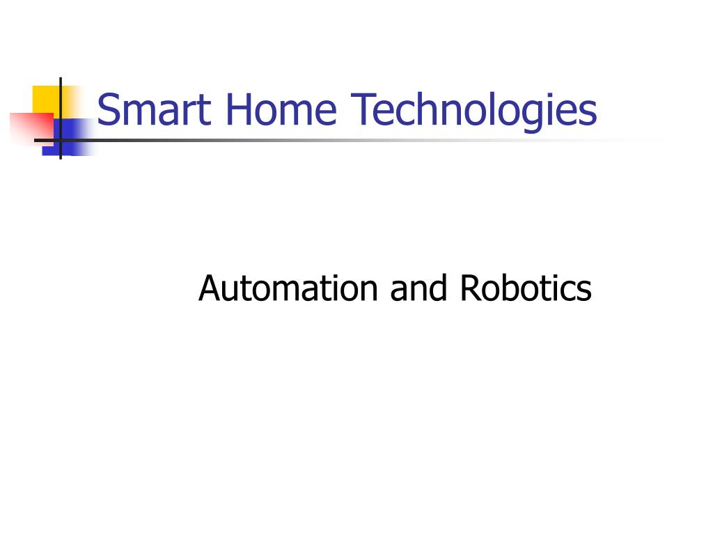 smart home technologies l.