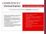 competence c