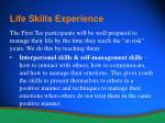 life skills experience12