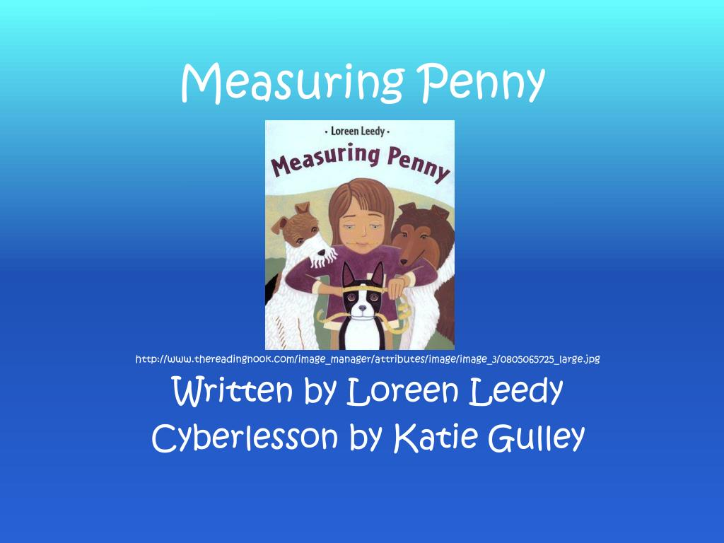 measuring penny l.