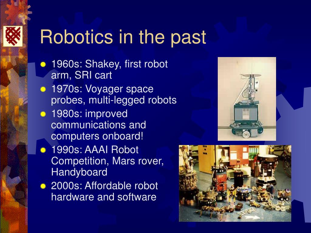 Robotics in the past
