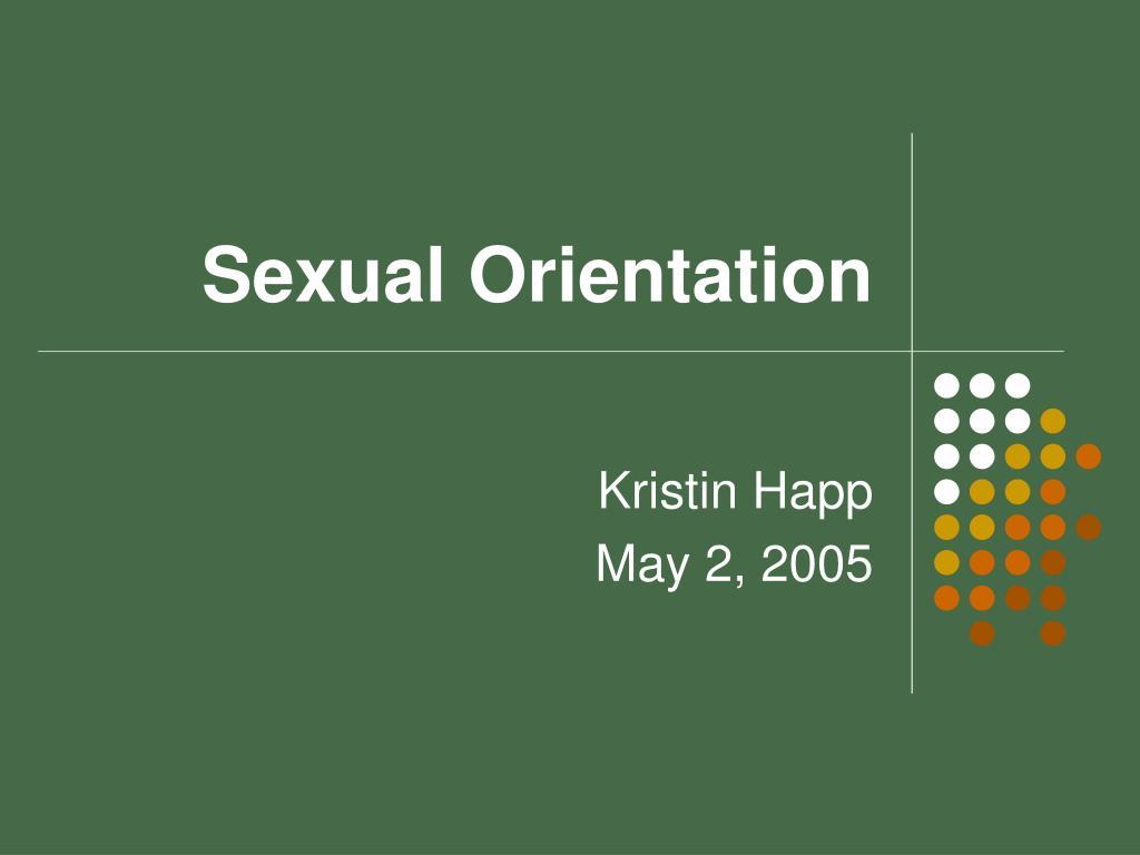 sexual orientation l.