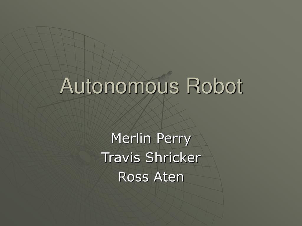 autonomous robot l.