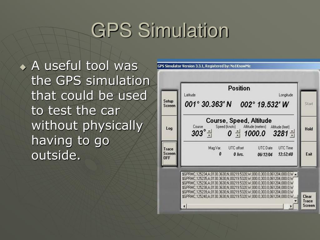 GPS Simulation