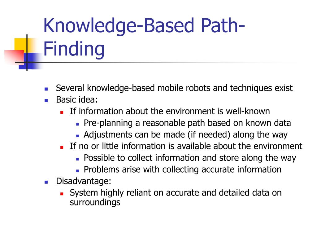 Knowledge-Based Path-Finding