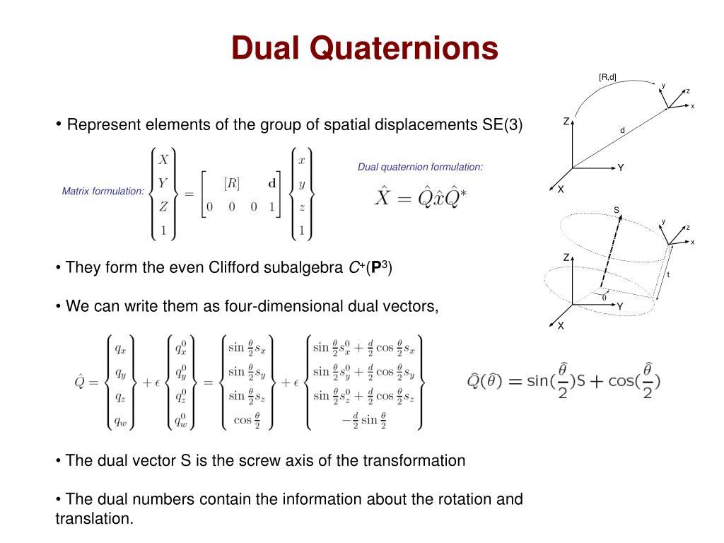 Dual Quaternions