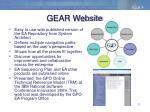 gear website