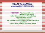 villas in nainital nainital@9212255755@2