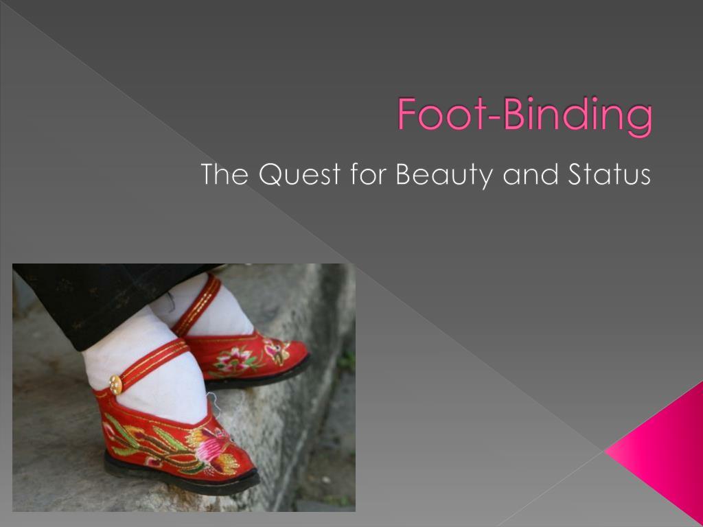 foot binding l.