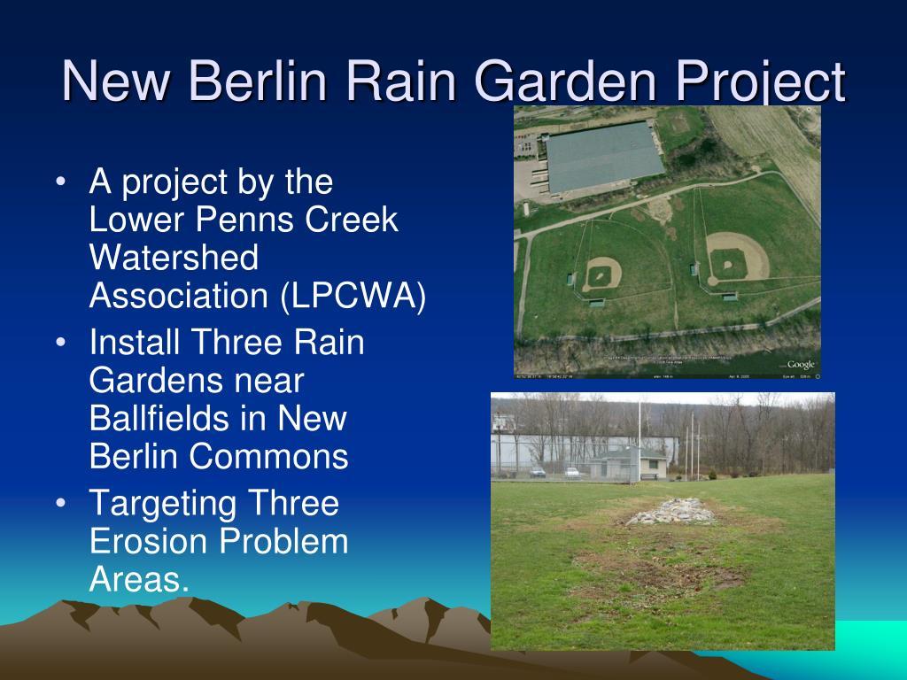 New Berlin Rain Garden Project
