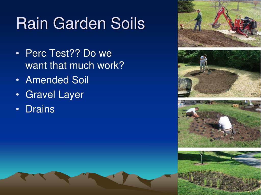 Rain Garden Soils
