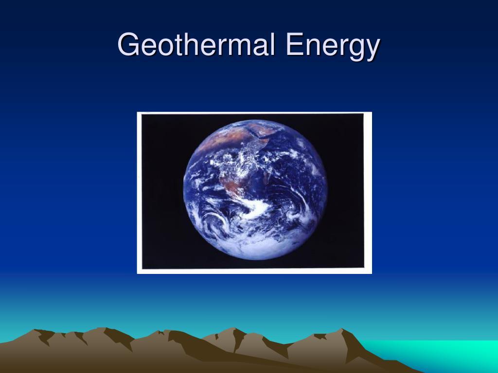 geothermal energy l.