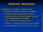 antibiotic resistance1