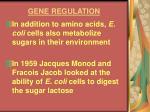gene regulation7