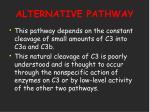 alternative pathway20