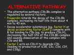 alternative pathway22