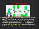 c1 activation