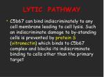 lytic pathway28