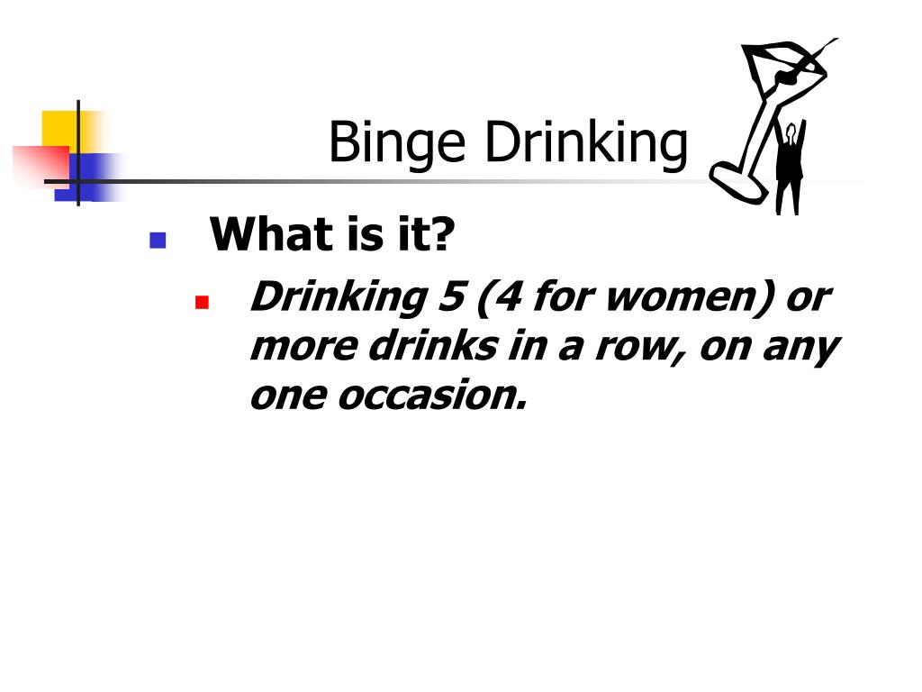 binge drinking l.