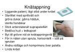 kn tappning