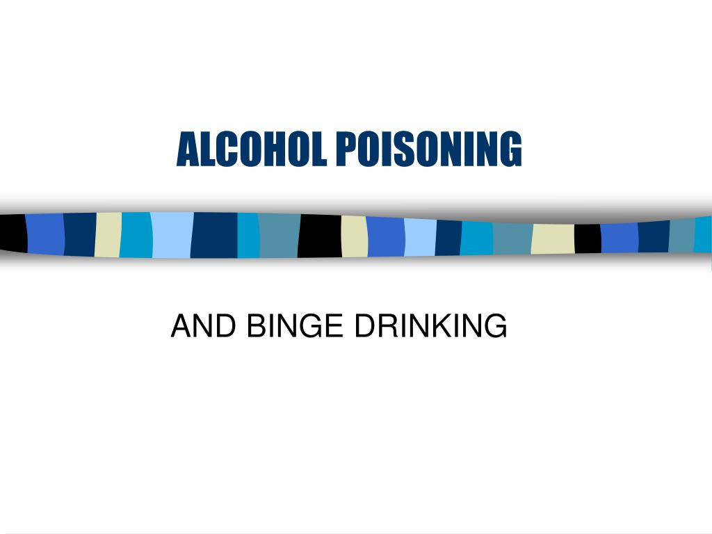 alcohol poisoning l.