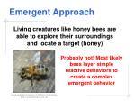 emergent approach28