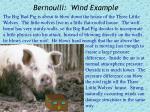 bernoulli wind example