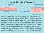 heart attacks bernoulli