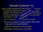 sample question 1036