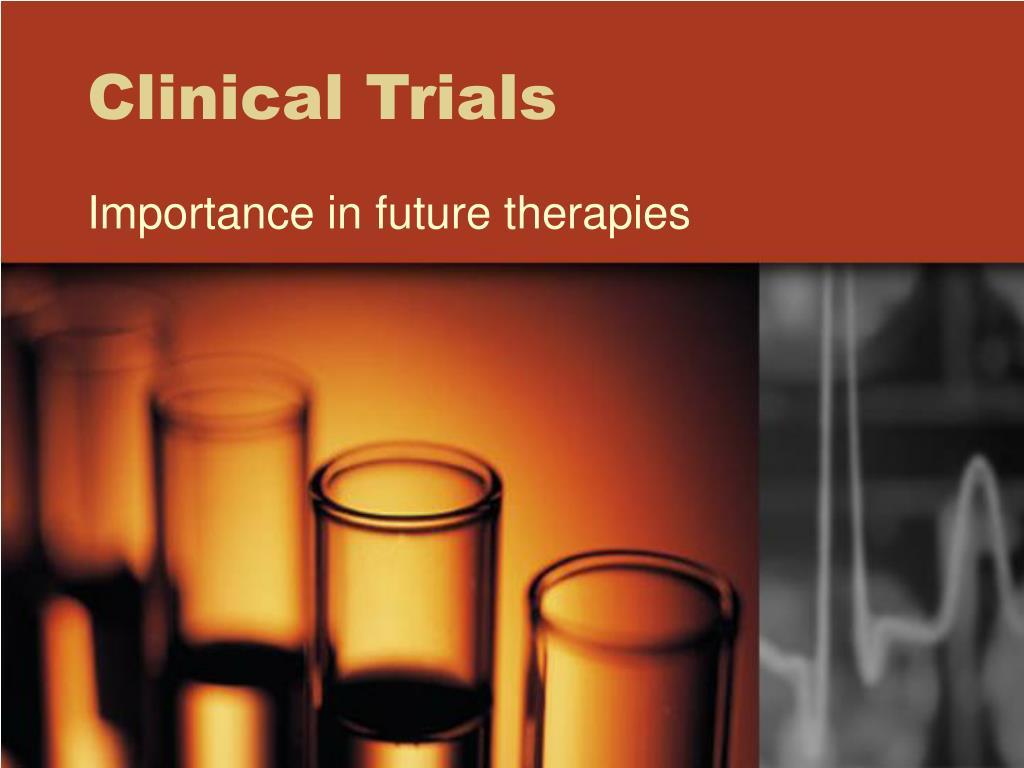 clinical trials l.