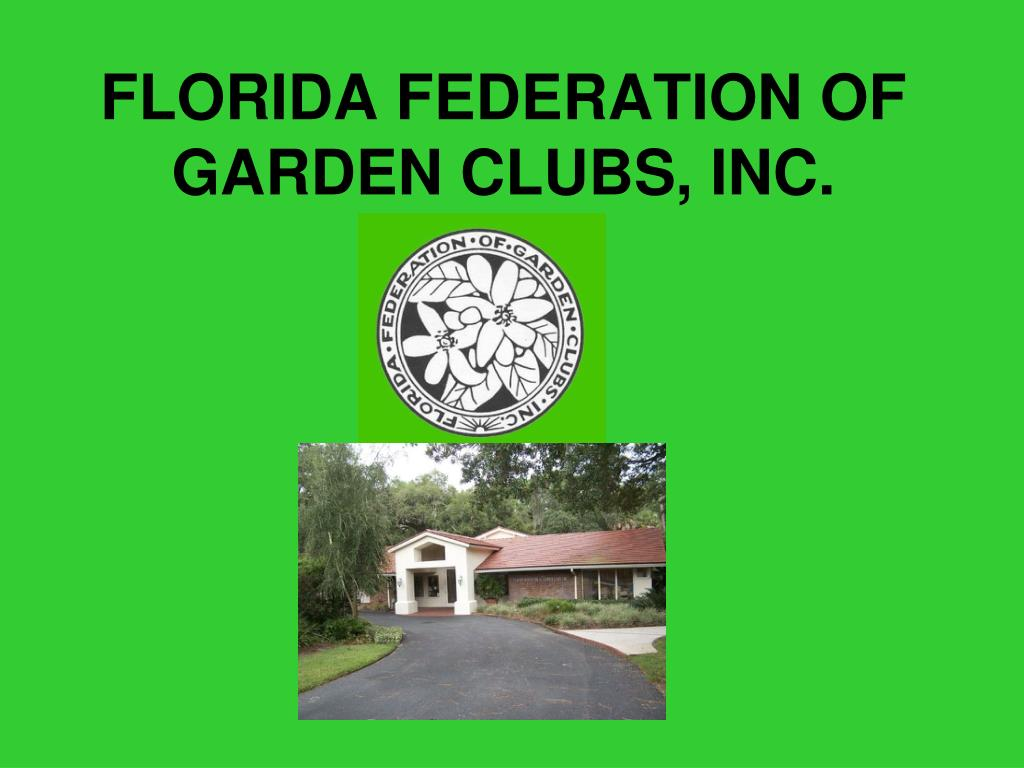 florida federation of garden clubs inc l.
