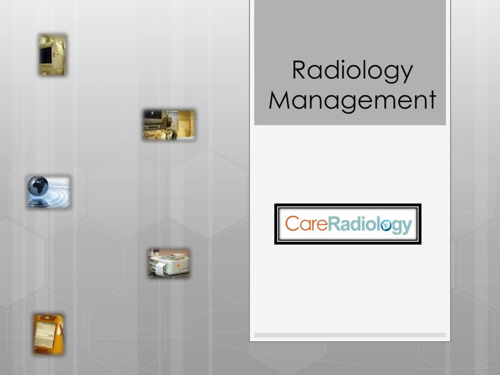 radiology management l.