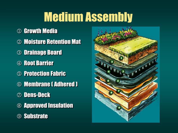 Medium Assembly