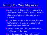 activity 6 nine magazines